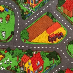 Kusový koberec FARMA 5201