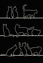 Kusový koberec A1 SPECTRO DESIGNER/CATS 33322/190