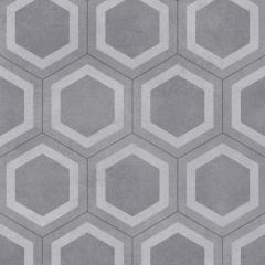 PVC Exclusive 260 Honeycomb tile grey